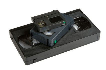 Tarifs transfert VHS et K7 Caméscope sur DVD ou USB
